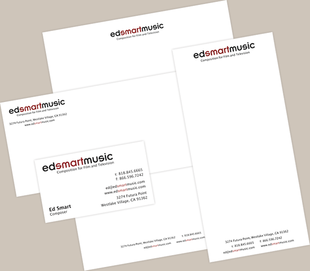 StirStudios Print Portfolio | Ed Smart Music