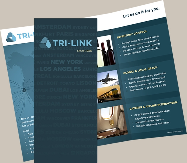 StirStudio Print Portfolio | Tri-Link