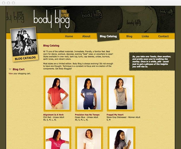 StirStudios Web Portfolio | Body Blog