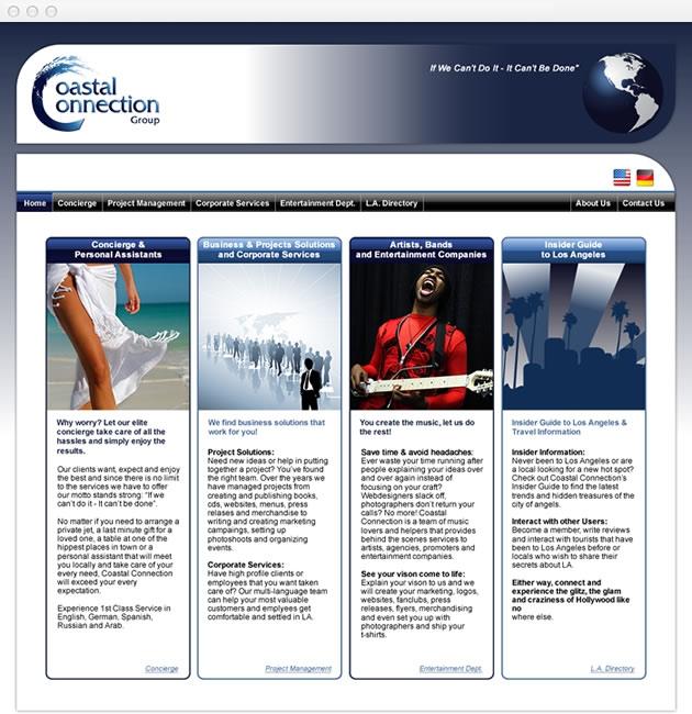 StirStudios Web Portfolio | Coastal Connection Group