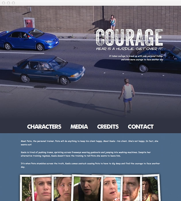 StirStudios Web Portfolio | Courage the Film