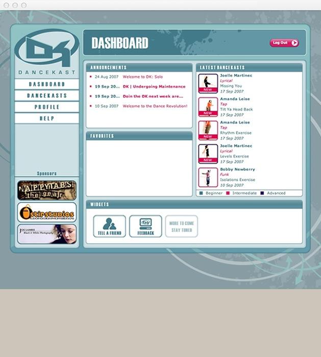 StirStudios Web Portfolio | DanceKast