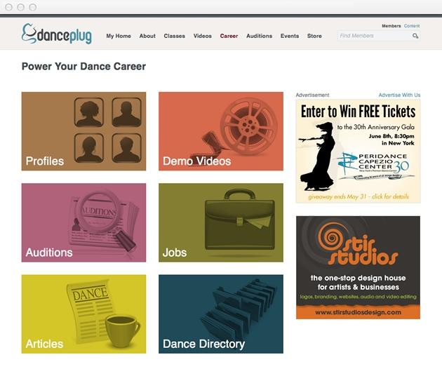 StirStudios Web Portfolio | DancePlug