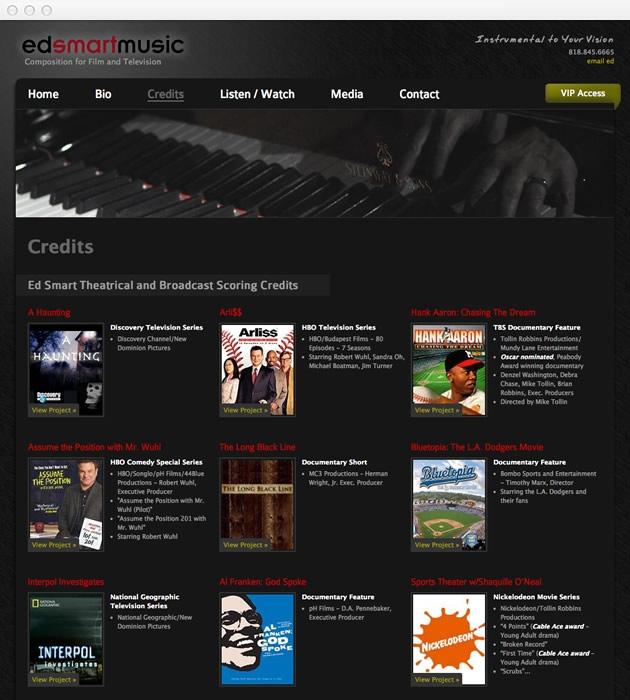 StirStudios Web Portfolio | Ed Smart Music