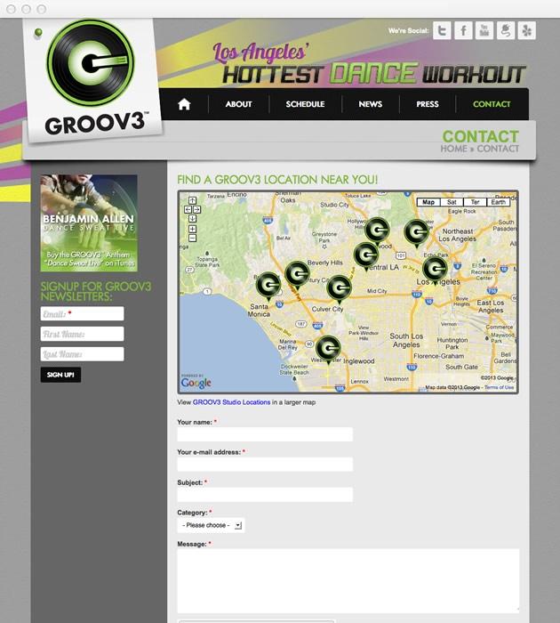 StirStudios Web Portfolio | GROOV3