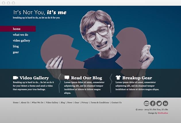 StirStudios Web Portfolio | It's Not You, It's Me