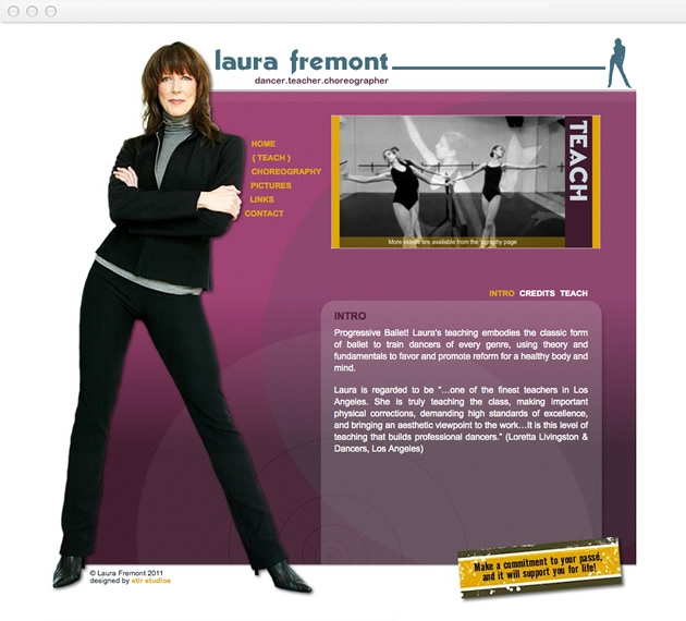 StirStudios Web Portfolio | Laura Fremont