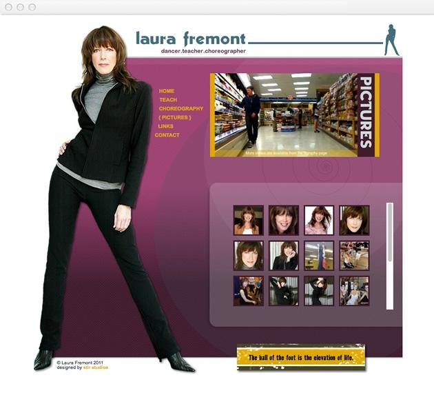 StirStudios Web Portfolio   Laura Fremont