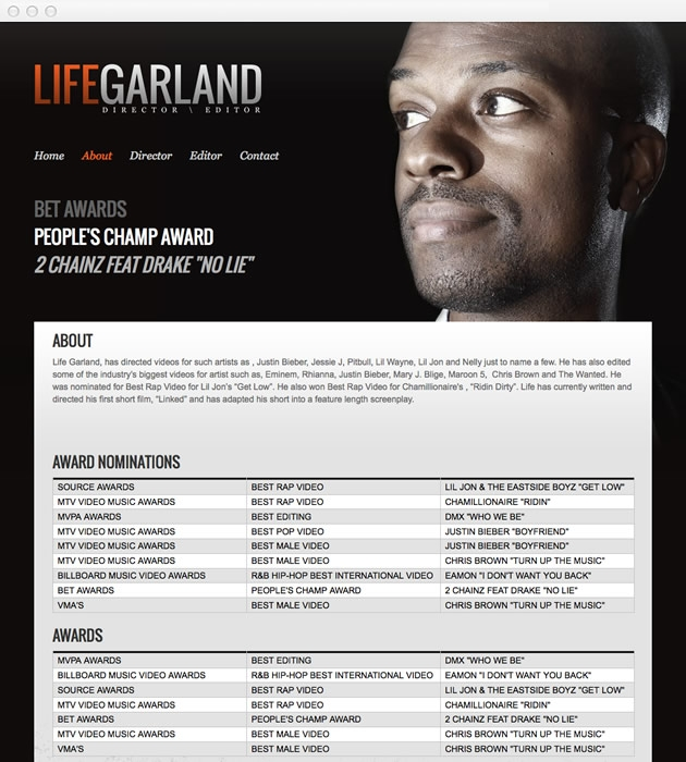 StirStudios Web Portfolio | Life Garland