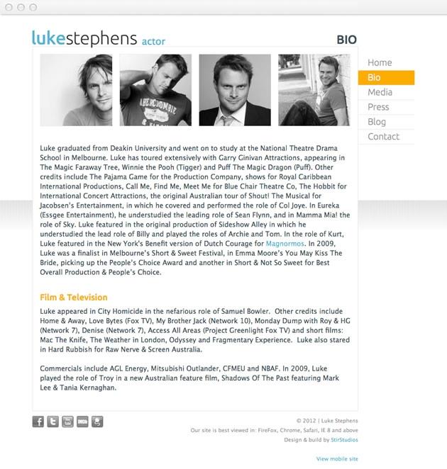StirStudios Web Portfolio | Luke Stephens