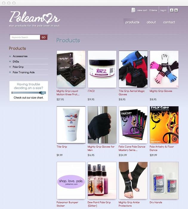 StirStudios Web Portfolio | Poleamor