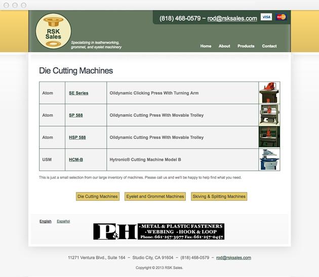 StirStudios Web Portfolio | RSK Sales