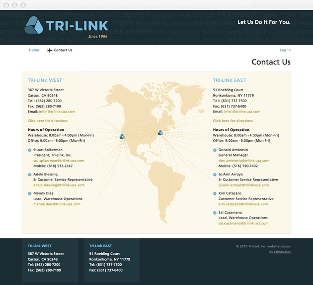 StirStudios Web Portfolio | Tri-Link